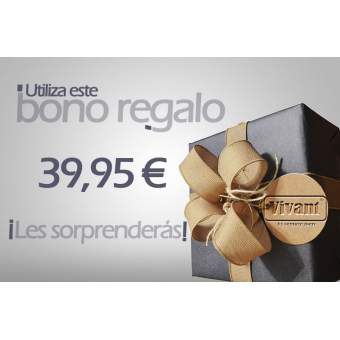 Bono Regalo 39,95€